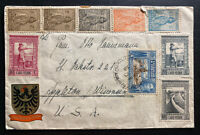 1942 Portuguese Angola Censored Commercial Cover To New York USA