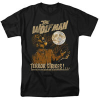 The Wolf Man Terror Strikes Universal Monsters Officially Licensed T-Shirt