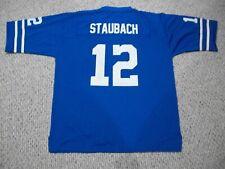 ROGER STAUBACH Unsigned Custom Dallas Old Blue Sewn New Football Jersey Sz S-3XL