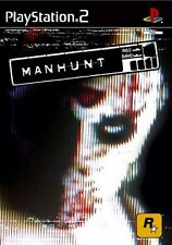 PS2 MANHUNT PAL FORMAT EXCELLENT CONDITION