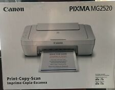 "Canon PIXMA MG2520 All-In-One Inkjet Printer -- BRAND NEW -- ""NO INK"""
