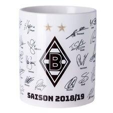VfL Borussia Mönchengladbach Tasse Kaffeetasse Unterschriften 2018/19 NEU !!!