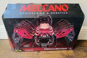 Meccano Engineering & Robots STEM Meccaspider