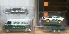 Furgoneta ixo 242 + Remolque + LANCIA Stratos Auto Italia 1/18