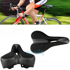 Gavin GEL Foam Anatomic Relief Extra Wide Cutout Bike Saddle Bicycle Soft Seat