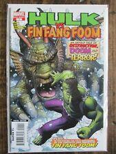 Marvel 2007 HULK VS FIN FANG FOOM Comic Book Issue # 1 ONE SHOT INCREDIBLE