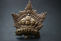 ww2 Canadian General service Officers Collar badge