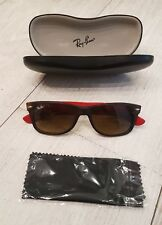 LUNETTE DE SOLEIL RAY BAN NEW WAYFARER - SUN GLASSES RAY BAN + ETUI RB 2132