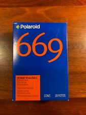 669 Polaroid Film expired 8/2008