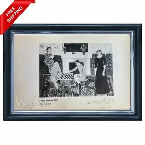 Henri Matisse - Family Portrait, Original Hand Signed Print  with COA