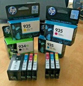 Genuine HP 935 934 XL - Black & Colour Inks SINGLES & SETS LOT (INC VAT)