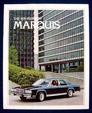 Prospekt brochure 1979 Mercury Marquis (USA)