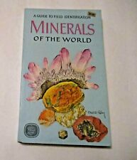 Vintage 1973 Guide To Field Identification of Minerals Of The World Geology Book