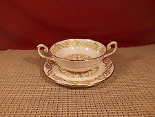 Tuscan/Royal Tuscan Fine China Louise Pattern Cream Soup & Saucer Set