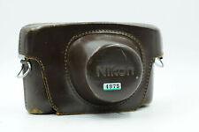Nikon Brown Leather Camera Case for S2 Rangefinder                          #975