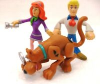 """SCOOBY DOO, DAPHNE e FRED "" cm 6/7 gr. 39 Hanna Barbera-character options Ltd"