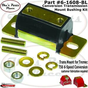Prothane 6-1608-BL Transmission T56 Conversion Mount Kit for 79-98 Ford Mustang