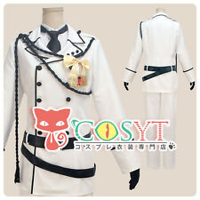 Kuroshitsuji Black Butler Charles Phipps Cosplay Costume Full Set All Size COSYT