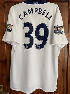 Manchester United Match Worn Player Issue Fraizer Campbell Shirt 2008/09