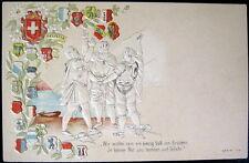 SWITZERLAND~SCHWEIZ~1900's SWISS HELVETIA~WIR WOLLEN SEIN EIN EINZIG VOLK~