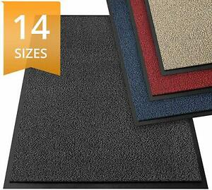 Heavy Duty Rubber PVC Rug Barrier Mat Extra Long Small Large Anti Slip Washable
