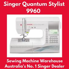 SINGER Quantum Stylist 9960 Computerised Sewing Machine