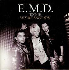 """E.M.D - """"Jennie Let Me Love You"""" - 2008 - CD Single"""