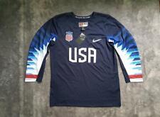 Men's Nike Team USA Olympic Replica Hockey Jersey Navy size S M L