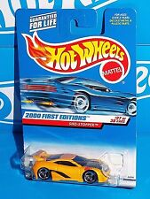 Hot Wheels 2000 First Editions #087 Sho-Stopper Dark Yellow w/ 3SPs