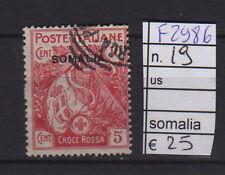 FRANCOBOLLI ITALIA COLONIE SOMALIA USATI N°19 (F2986)