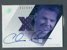 Chris Redman 2000 SPX Rookie Jersey Auto card #137