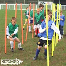 Diamond Junior Mini Pole Set 12 Poles - Cheap Agility Slalom Training Pole Sets