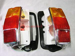Pair Lights Rear Full for Fiat 500 F LR Right+Left