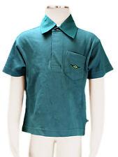 JACADI Boy's Caprier Cedar Green Short Sleeve Polo Size 2 Years NWT