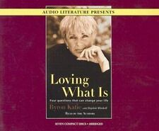 PRISTINE Loving What Is by Byron Katie The Work Audiobook 7 Disc Set