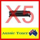 5x HP 05X (CE505X) HY toner cartridge for HP Laserjet P2055 P2055D P2055DN