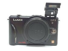 Panasonic LUMIX DMC-GF2 Digital Camera - Black (Body Only)
