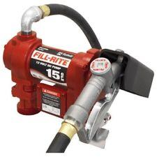 Transfer Pump 12 Volt Liquid Fuel Diesel Gas Gasoline Kerosene Car Truck Tractor