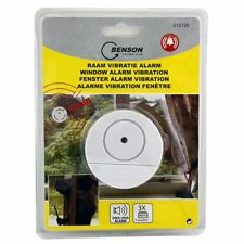 Fenster Scheiben Alarm mit Vibrations-Empfindlichkeit, Einbruchschutz