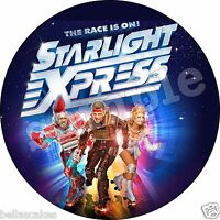 Eßbar Tortenaufleger Starlight Express Musical Tortenbild DVD NEU Party Deko