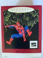 Hallmark Keepsake Ornament Spiderman 1996 Marvel Comics Christmas Tree