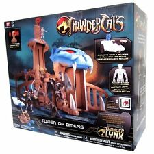 Bandai Thundercats Tower Of Omens Castle Deluxe Playset Action Figure Set +Tygra