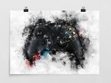 Games Controller - Wall Art - Games Room - Gaming Poster - Print - Xbox