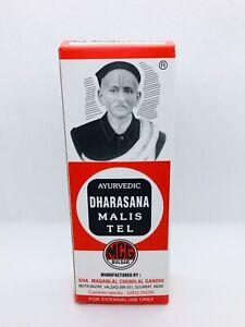 Ayurvedic Dharasana Massage Oil Malis Tel Pain Relief Soothing Relaxing 65ml