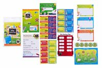 Play Teachers Game Pretend School Teacher Kit Kids School Role Play Booster Pack