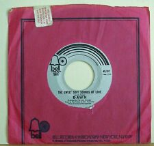Tony Orlando Dawn 1971 Bell 45 rpm Summer Sand b/w Sounds Of Summer The Tokens