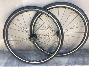 Powertap SL+ meter on custom H Plus Son A Road Bike Wheelset