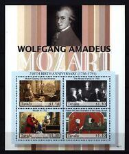 Tuvalu 2006 - 250. Geburtstag von Wolfgang Amadeus Mozart - Klavier Flügel Piano