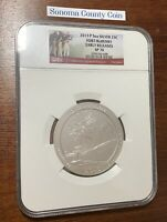 2013 P 5oz Silver 25C FORT McHENRY ATB NGC SP70 EARLY RELEASES