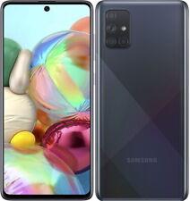 Samsung Galaxy A71 4G teléfono inteligente 128GB Desbloqueado Sim Libre-Crush Negro B +